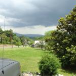 View from front of home