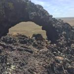 Volcanic arch on top of Vulcan