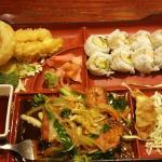 Teriyaki salmon lunch, Tempura shrimp lunch
