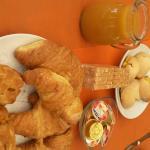 colazione con sfogliatelle buonissime