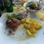 Lamb with potatoes, yummyy