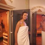 Finnische Sauna und Kräutersauna