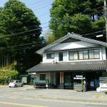 昼神温泉ガイドセンター。トイレ・ATMあり