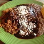Chicken Enchiladas with Mole