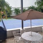Único hotel con cancha de Tennis