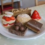 A Few Nice Home-baked Cakes (and a Scone)