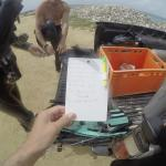 Bas' dive slate with what we saw