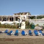 Sea Breeze Hotel from the beach