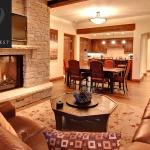 Join with family and friends by the fireplace!