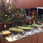 buffet na tenda