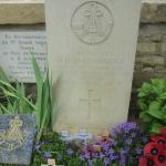 Lieutenant Den Brotheridge's grave