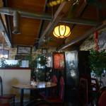 The inside of the Golden Gate Restaurant
