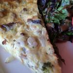 Clubhouse at Frenchman's - breakfast quiche.  Very good