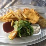 Fish & chips for lunch!