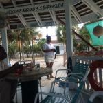 The Barracuda beach bar. What a place to unwind