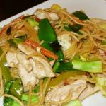 Pad Spaghetti Kimow at Nahm Prik Thai Cuisine