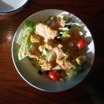 Salad with 1000 island