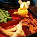 kids menu - shrimp tempura