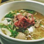 Oxtail Beef Pho
