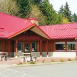 Red Rooster Diner Entrance