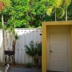 Garden View Patio Area