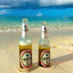 Beer in the sand. Had to.