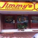 Entrance of Jimmy's Kitchen .