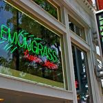 Entrance Signs to the Lemongrass Bistro