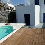 Villa y la piscina