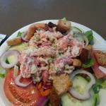 Lobster Salad on a salad