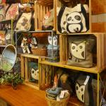 Handbags and jewelry available in the gift shops.