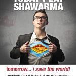 Shawarma saves the World