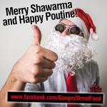 Ganges Street Food Christmas poster