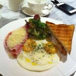 Really enjoyed our All-Day Breakfast - Antoinette Cafe next to the hotel.
