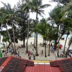 Вид с веранды на пляж