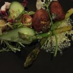 Asparagus & Fritters