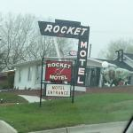 Front of Motel