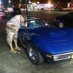 taking the vette to All-American Burger on a LI summer night!