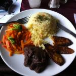 Simple Guatemalan lunch - delicious