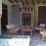 Terrasse im Hof gehört zur Wohnung Ander