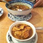 Our huge bowl of Hot n Sour Soup