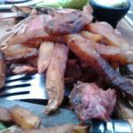 frites archis cuites molles et brulées