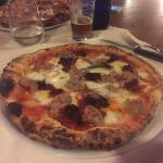 Pizza salsiccia e nduja