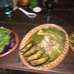 A bit blurry - But dinner was delicious