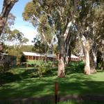 The accommodation area at Serafino's winery/restaurant/conference centre