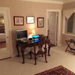 Admirals Suite study with day bed