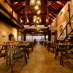 The restaurant is housed in a century-old warehouse once used to stock spices
