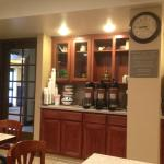 Breakfast room - coffee dispensers