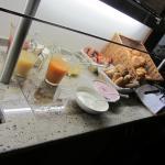 Seconda parte del buffet della colazione