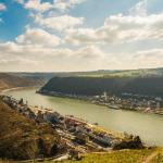 Das Rheintal vom Rheinsteig